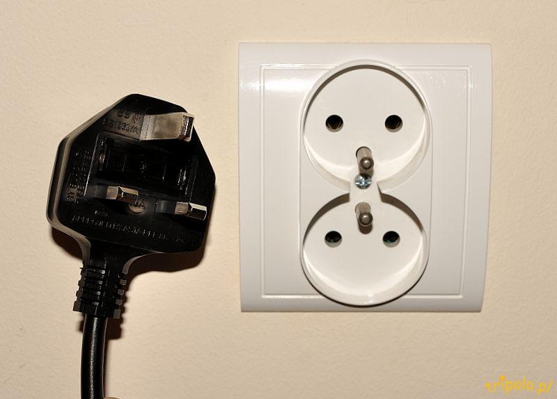 Znalezione obrazy dla zapytania wtyczka do prądu