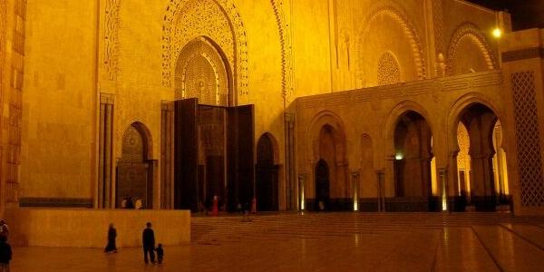 Meczet Hassana II w Casablance w Maroku – GALERIA