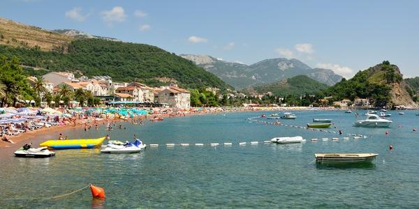 Czarnogóra na WAKACJE, letni odpoczynek na czarnogórskim wybrzeżu w Petrovac